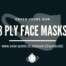 3 ply face masks - medical - certified
